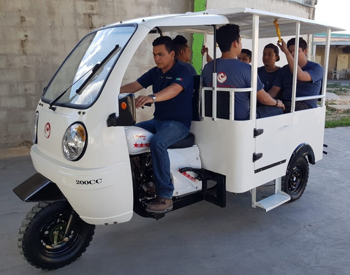 motocarro para 5 pasajeros 2019 trimoto moto taxi