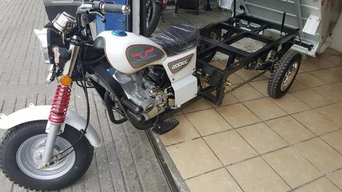 motocarro pick up 200cc carga 600kg garrafonero panaderia