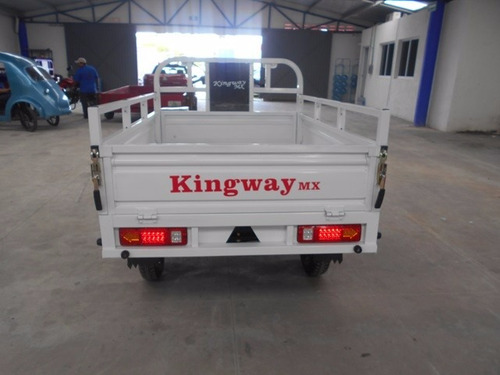 motocarro pick up 2019 caja larga 700 kg kingway