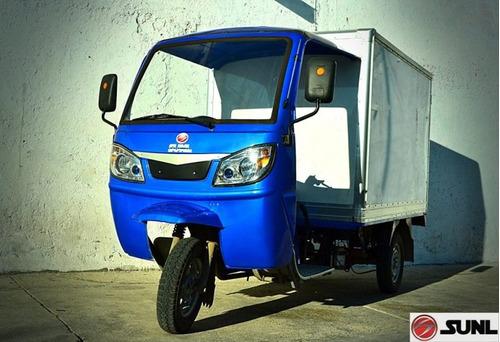 motocarro sunl 250cc caja seca con cabina leon gto