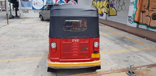 motocarro tvs king deluxe plus 2020 mototaxi,carga, hindú
