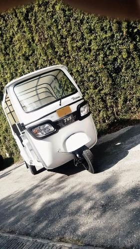 motocarro tvs king indu 2017 de pasajeros motor 200 kawasaki