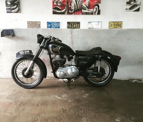 motocicleta ajs 1958