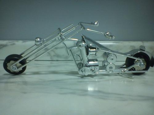 motocicleta, artesanato, enfeite, decoração