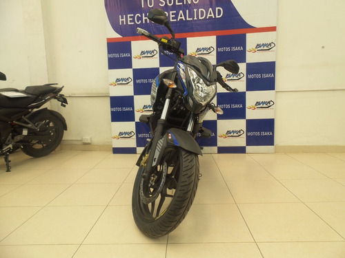motocicleta auteco ed copa negro nebulosa calcomania azul