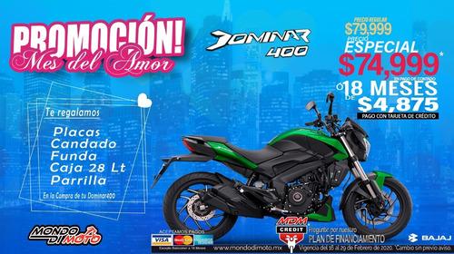 motocicleta bajaj dominar 400