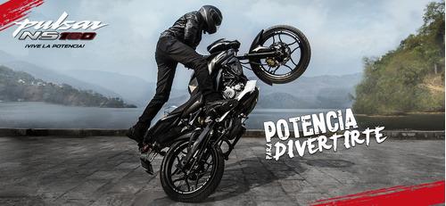 motocicleta bajaj pulsar ns 160