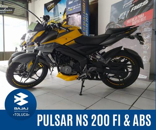 motocicleta bajaj pulsar ns 200 fi & abs modelo 2020 nueva