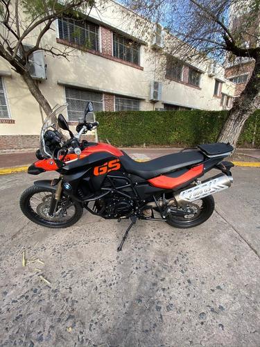 motocicleta bmw f800 gs muchos accesorios, único dueño