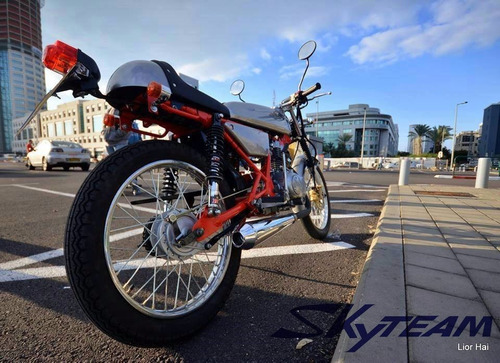 motocicleta cafe racer , recien llegadas !!!