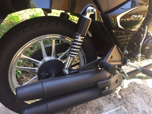 motocicleta chooper semi nueva  italika rc200