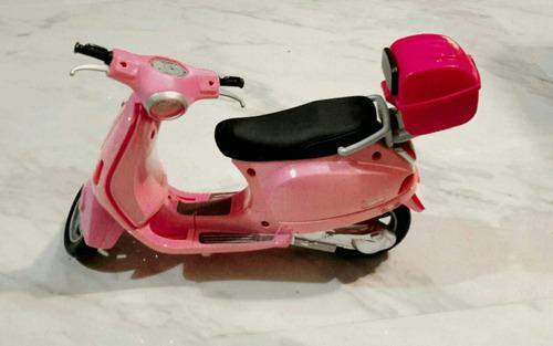 motocicleta de barbie