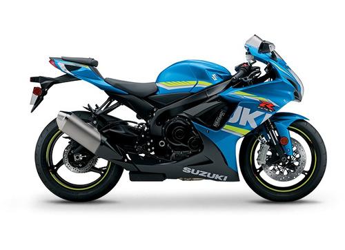 motocicleta deportiva pista suzuki gsx-r 600 cb r1