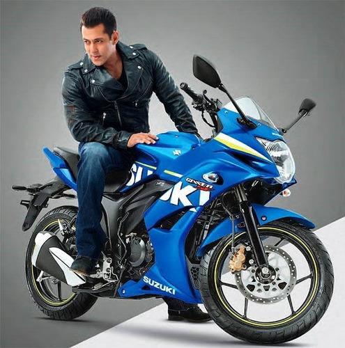 motocicleta deportiva suzuki gixxer sf fi 2019