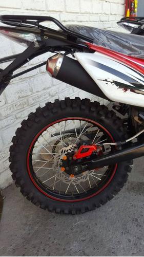 motocicleta doble proposito estandar 5 velocidades 250cc