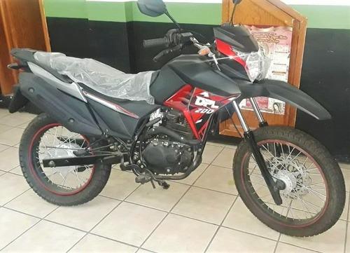 motocicleta doble propósito nueva dpl200n izuka