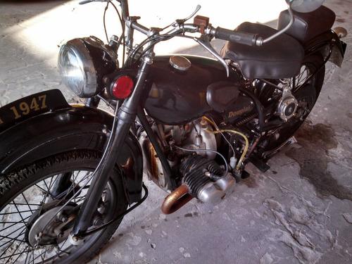 motocicleta douglas t35  350cc 1947 inglesa  con papeles