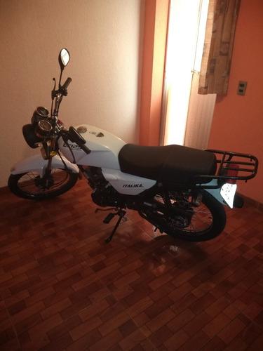 motocicleta dt.125  de italika 2019
