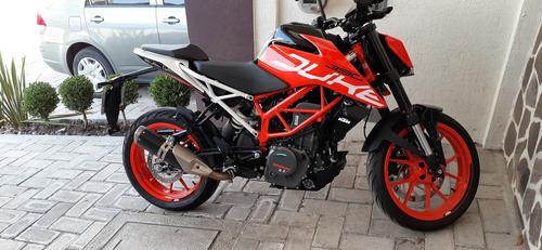 motocicleta, duke ktm 390 abs, 2019.