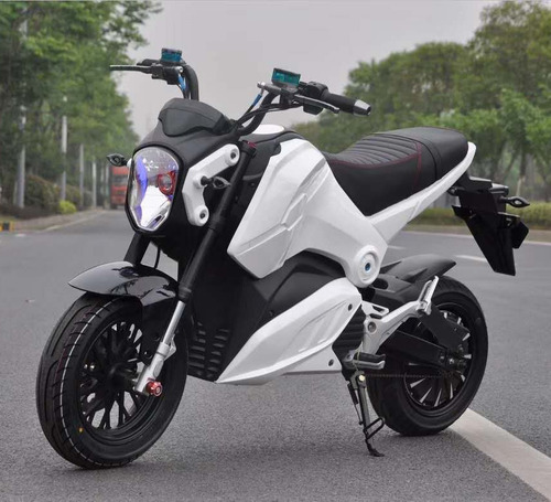 motocicleta eléctrica 60 km / h nuevo con casco y guantes