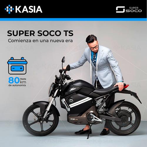 motocicleta electrica scooter super soco ts kasia original