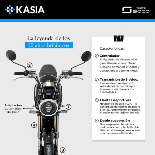 motocicleta electrica supersoco tc max edicion limitada