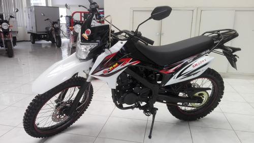 motocicleta enduro 300cc
