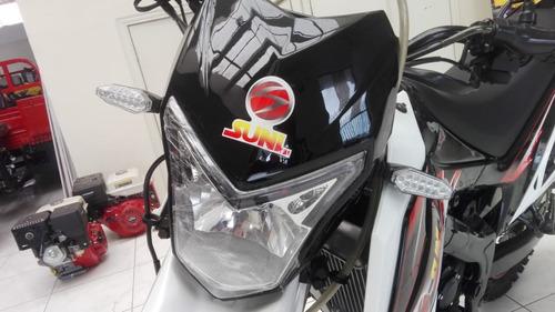 motocicleta enduro 300cc enfriada por agua, nueva