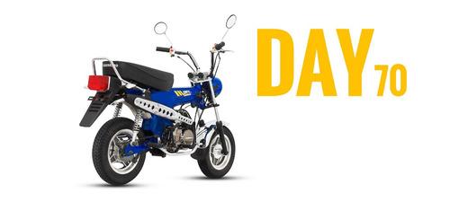 motocicleta guerrero day 70 automática