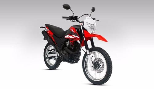 motocicleta guerrero gxl 150 tundra
