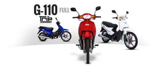motocicleta guerrero trip 110 full