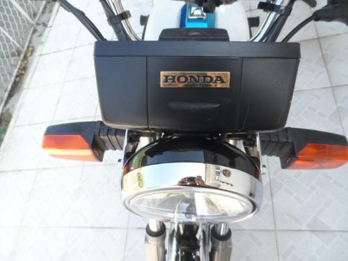 motocicleta honda cgl  125  modelo 2018