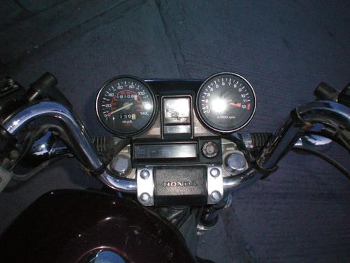 motocicleta honda magna 500cc mod 1984