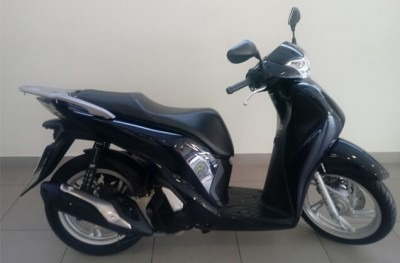 motocicleta honda sh 150i 2017 azul