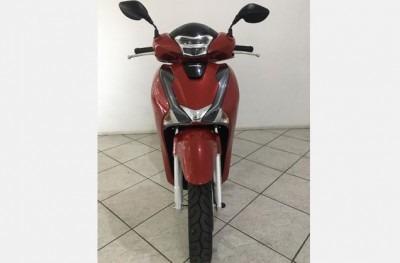 motocicleta honda sh 150i 2019 vermelha