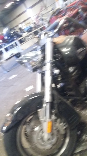 motocicleta honda vtx1800 2005 quemada partes, etc chopper