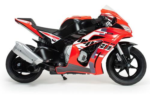 motocicleta infantil motorbike racing fighter 24v injusa