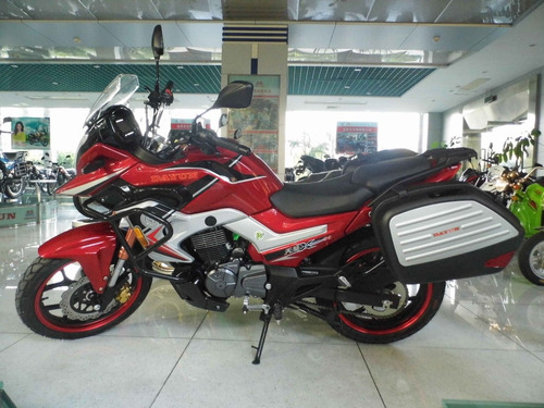 motocicleta inyectada turismo +cajas+alarma+encendido remoto