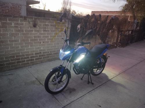 motocicleta italika 125z año 2019