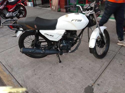 motocicleta italika dt150 2015, todo en regla y factura orig