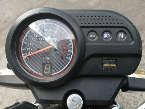 motocicleta italika ft125 2018