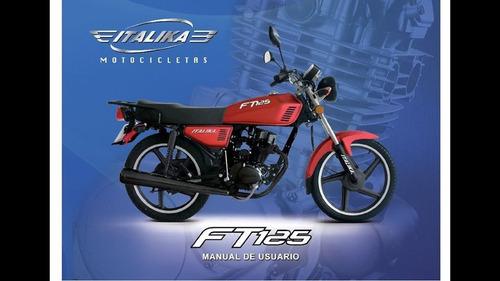 motocicleta italika ft125