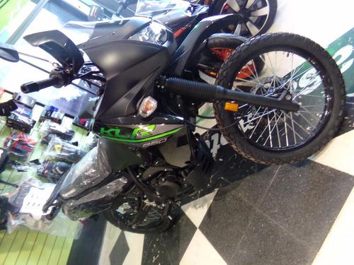 motocicleta kawasaki klr 650 0km negra 2017