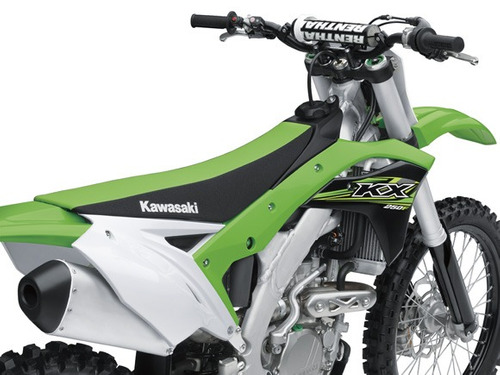 motocicleta kawasaki kx 250f 2018 0km verde