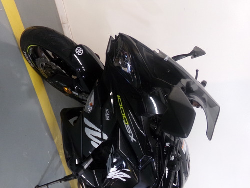 motocicleta kawasaki ninja 1000 sx 2018 negra 16.500km