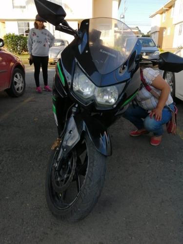 motocicleta kawasaki ninja 250 2012