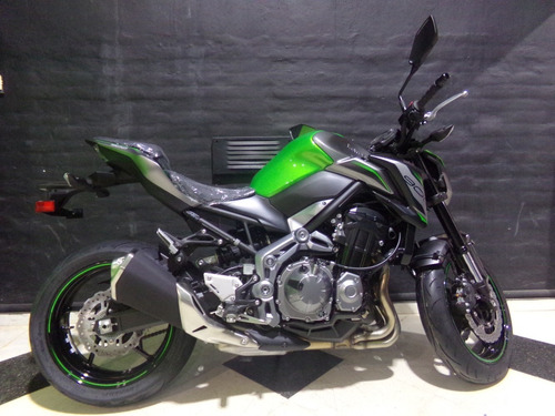 motocicleta kawasaki z900 2019 0km verde