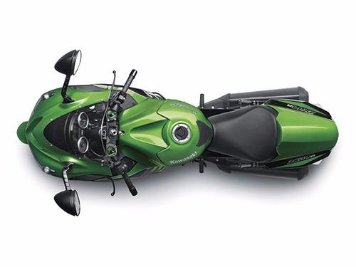 motocicleta kawasaki zx14 r verde 2016 0km