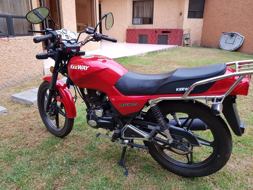 motocicleta keeway 125 año 2016