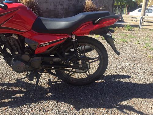 motocicleta keeway rk 150 usada